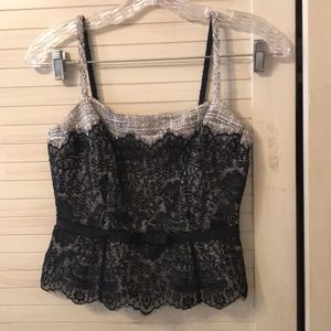Sweet Limited lace overlay top